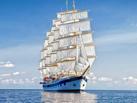 Die Grenadinen an Bord der Royal Clipper